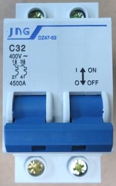 marca: JNG modelo: DZ4763C32 bipolar estado: novo