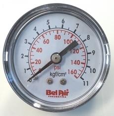 Manometro (escala: 160PSI 11kgf/cm2)
