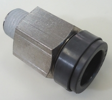 Conexão reta (modelo: 1/4X12 QSV0-1/4-12)