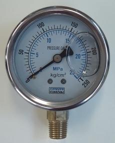 Manometro (escala: 25MPA 250kg/cm2)