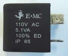 Bobina (modelo: 110VAC 5.1VA) para válvula pneumática