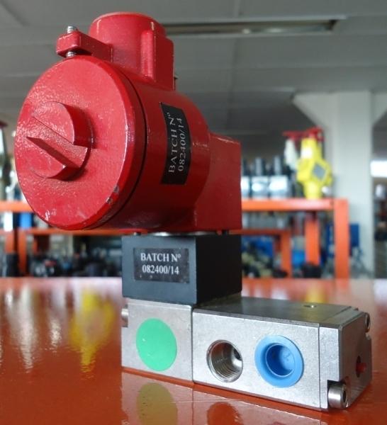 marca: Falcon <br/>modelo: 08240014 c/ bobina à prova de explosão <br/>estado: usada