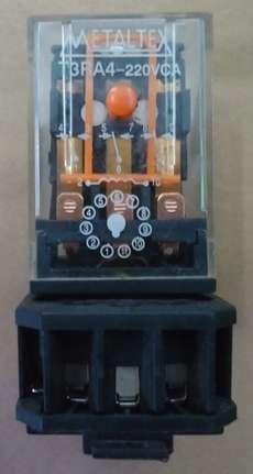 Rele com base (modelo: T3RA4220VCA)