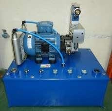 Unidade hidráulica (motor: 1,5HP)