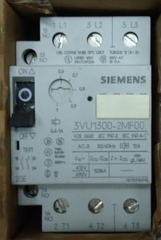 marca: Siemens modelo: 3VU1300-2MF00 estado: nunca foi utilizado, embalagem danificada