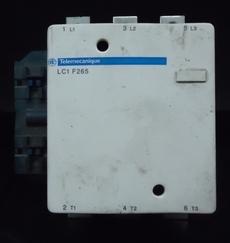 marca: Telemecanique modelo: LC1F265 estado: usado, bom estado