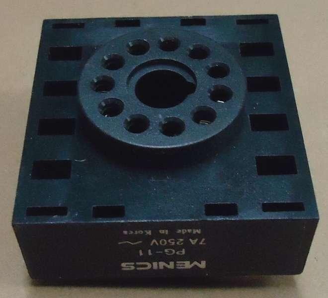 marca: Menics <br/>modelo: PG11 7A 250V <br/>estado: nova