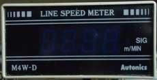 Medidor de velocidade (modelo: M4WD)