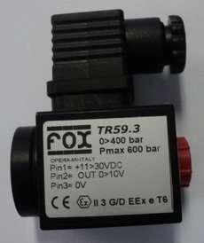 Transdutor de pressão (modelo: TR593)