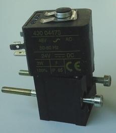 marca: Asco modelo: 43004473 50/60HZ 24VDC estado: nova