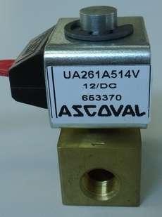 marca: Ascoval modelo: UA261A514V 12DC estado: nova