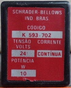 Bobina (modelo: K593702) para válvula pneumática