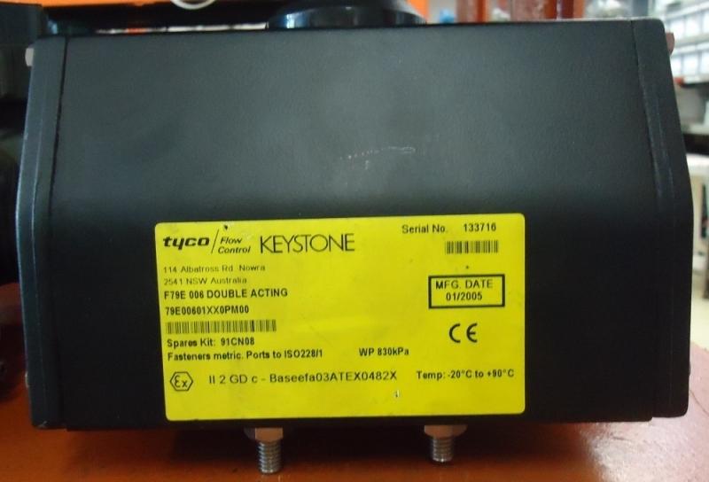 marca: Tyco Keystone <br/>modelo: F79E006 <br/>estado: no estado