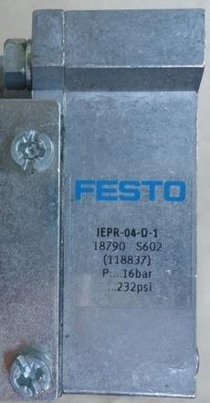 marca: FESTO modelo: IEPR04D1 18790 estado: seminova, aparencia de nova