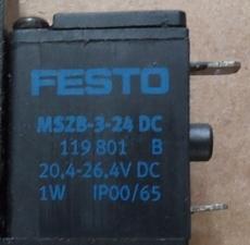 marca: Festo modelo: MSZB324DC 119801 estado: seminova