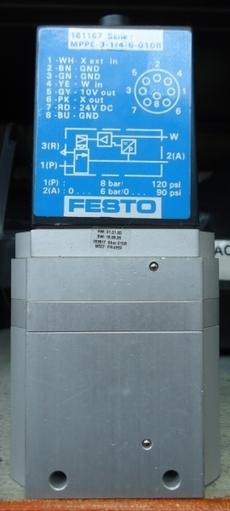 marca: FESTO modelo: MPPE3146010B 161167 estado: seminova