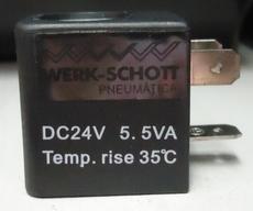 Bobina (modelo: DC24V 5.5VA) para válvula pneumática