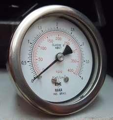 Manometro (escala: 400KPA 4kgf/cm2)