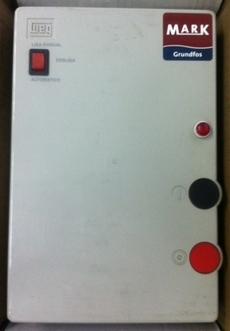 Chave de partida (modelo: QCS055 5,5CV 3X220V)