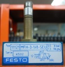 marca: FESTO modelo: MFH318SEU 11121 estado: seminova