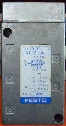 marca: FESTO modelo: VL514 9199 estado: seminova