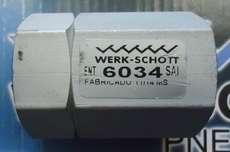 marca: Werk Schott modelo: 6034 estado: nova