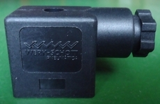 Plug para bobina (marca: WERK SCHOTT) para válvula pneumática