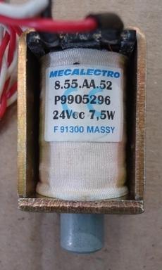 marca: Mecalectro modelo: P9905296 24VCC 7,5W F91300 MASSY estado: nova