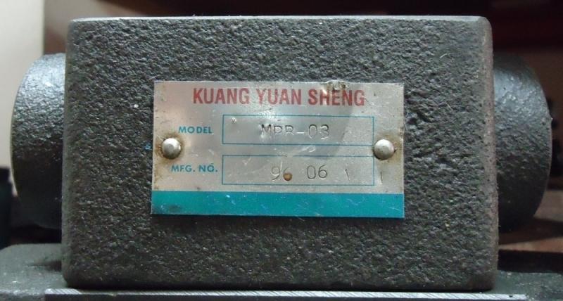 marca: Kuang Yuan Sheng <br/>modelo: MPR03 <br/>estado: seminova