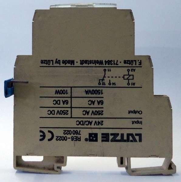 marca: Lutze <br/>modelo: RE60022 <br/>estado: usado