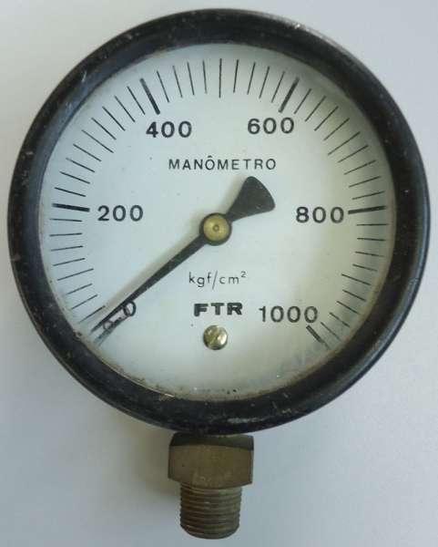 marca: FTR <br/>escala: 1000kgf/cm2 <br/>estado: usado