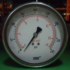 Manometro (escala: 28kg/cm2 400PSI)