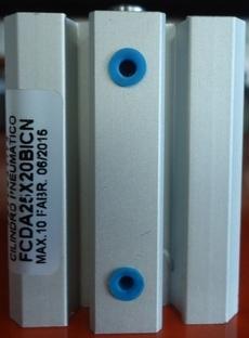 Cilindro pneumático (modelo: FCDA25X20BICN)