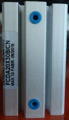 Cilindro pneumático (modelo: FCDA20X30BICN)