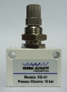 Regulador de fluxo (modelo: XG01)