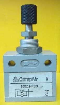 Regulador de fluxo (modelo: 1/4X1/4 8D202-RES)