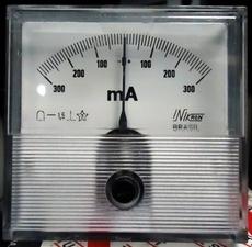 Amperímetro (escala: 300mAMP)