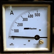 Amperímetro (modelo: 500AMP)