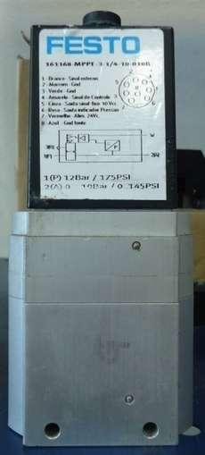 marca: FESTO modelo: 161168MPPE31410010B 161168 estado: seminova