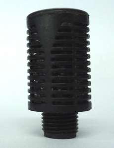 modelo: 1/8pol, em plástico preto estado: novo