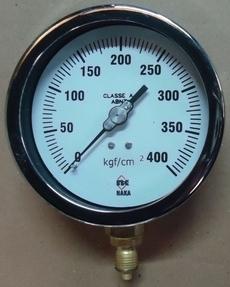 Manometro (escala: 400kgf/cm2)