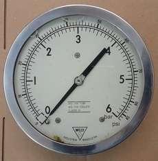 Manometro (escala: 6BAR)
