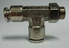 ConexãoT rosca lateral (modelo: 1/8X6mm)