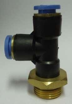 ConexãoT rosca lateral (modelo: 3/8X8mm)
