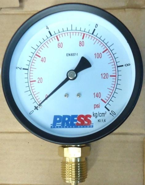 marca: PRESS/SALCAS <br/>escala: 140PSI 10kg/cm2 <br/>estado: novo