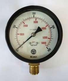 Manometro (escala: 5600PSI 400kgf/cm2)