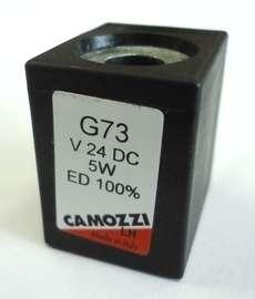 Bobina (modelo: G73 24VDC 5W) para válvula pneumática