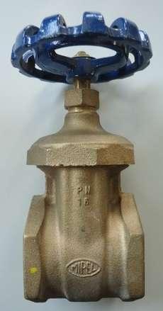 Válvula 2 vias (modelo: 601 DN65)
