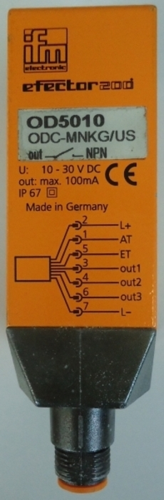 Equipamento eletronico (modelo: OD5010)