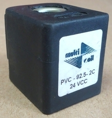 Bobina (modelo: PVC9252C 24VCC) para válvula pneumática